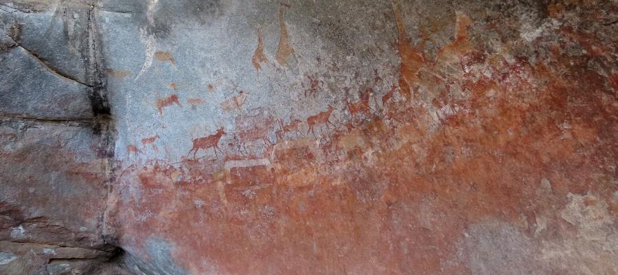 Bushmen paintings Matobo NP